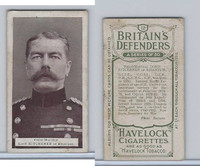 W62-219B Wills, Britain's Defenders, 1915, #12 Lord Kitchener