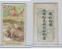 W62-320 Wills, Products of World, 1913, #35 Quarrying Chalk