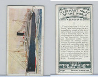 C20 Imperial Tobacco, Merchant Ships, 1924, #1 TSS California