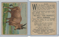 FC1, Harry Horne Co, Nu-Jell, Animals And Birds, 1925, Eland (Antelope)