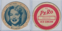 F5-16 Dixie Cup, 1950, Movie Stars, Large Size, Betty Hutton