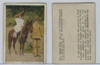 V67 Neilson's Chocolate, Wild Animals, 1930's, #B5 Riding Pony
