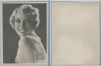 W618 Brody, Motion Picture Stars, 1926, Blank Back, Gwen Lee