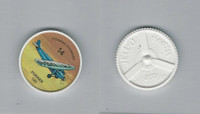 1960's Jell-o Hostess, Airplane Coin, #14 Fokker