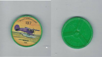 1960's Jell-o Hostess, Airplane Coin, #137 Wago 1936