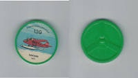 1960's Jell-o Hostess, Airplane Coin, #139 Sekani 1937