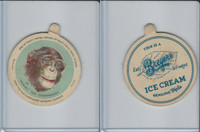 F1 Dixie Cup, Circus Series, 1930, #10 Daniel The Chimpanzee (B)