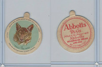 F1 Dixie Cup, Circus Series, 1930, #19 Wally The Wolf (B)