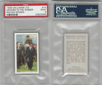 G12-94 Gallaher, Racing Scenes, 1938, #14 Leading In Winner, PSA 9 Mint