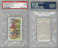 G12-94 Gallaher, Racing Scenes, 1938, #16 Apprentices, PSA 9 Mint