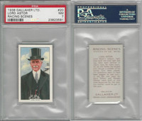 G12-94 Gallaher, Racing Scenes, 1938, #20 Lord Astor, PSA 7 NM
