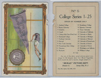 T6 Murad Cigarettes, College Series Premium, 1910, City New York
