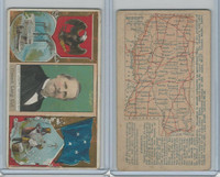 N133 Duke, State Governors, Coats of Arms, 1888, Mississippi, Lowry
