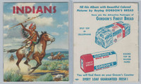 D39-1 Gordons Bread, Recipe - Indian Picture, 1940's, Album Unused