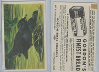 D39-2b, Gordon Bread, California Birds, 1940's, Dipper