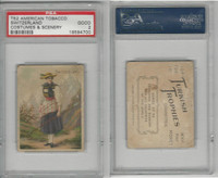 T52 Helmar, Costumes & Scenery, 1912, Switzerland, PSA 2 Good