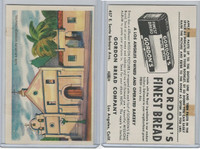 D39-6b, Gordon Bread, Mission Pictures, 1950's, Los Angeles Mission Chapel
