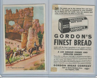 D39-7, Gordon Bread, Natures Splendor, 1940's, Bryce Canyon