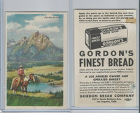 D39-7, Gordon Bread, Natures Splendor, 1940's, Grand Teton