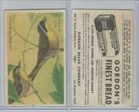 D39-11 Gordon Bread, Bird Pictures, 1950, Maryland Yellow Throat