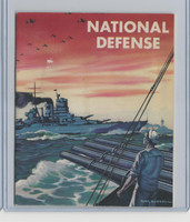 D59, Gordon Bread, National Defense Pictures, 1940's, Album Unused