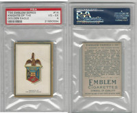T56 Emblem,  Emblem Series, 1911, #14.Knights Golden Eagle, PSA 4 VGEX
