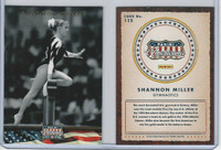 2012 Panini, Americana Heroes, #115 Shannon Miller, Gymnastics