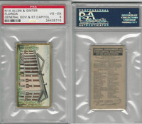 N14 Allen & Ginter, General Gov. & State Capitols, 1889, Florida, PSA 4 VGEX
