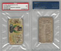 N165 Goodwin, Games & Sports, 1889, Coursing, PSA 1