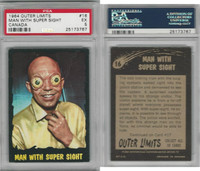 1964 O-Pee-Chee, Outer Limits, #16 man With Super Sight, PSA 5 EX