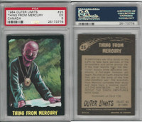 1964 O-Pee-Chee, Outer Limits, #25 Thing From Mercury, PSA 5 EX