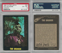 1964 O-Pee-Chee, Outer Limits, #30 The Invaders, PSA 6 EXMT