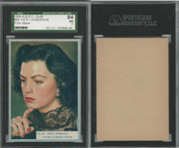 1954 A&BC, Film Stars, #46 Faith Domergue, SGC 84 NM
