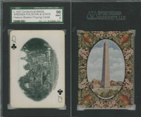 PL Card, Chisholm, Historic Boston, 1897, CQ, Brewer Fountain, SGC 96 Mint