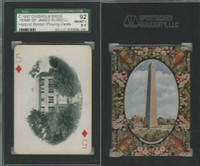 PL Card, Chisholm, Historic Boston, 1897, D5, James Russell, SGC 92 NMMT+