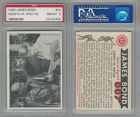 1965 Philadelphia, James Bond-Movies, #23 Agents Of Spectre, PSA 8 NMMT
