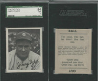 1936 Goudey Baseball, #12 Jimmy Dykes, White Sox, SGC 84 NM