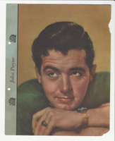 F5-8 Dixie Cup, Premium, 1942, Movie Stars, John Payne