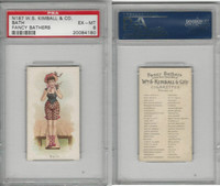 N187 Kimball, Fancy Bathers, 1889, Bath, PSA 6 EXMT
