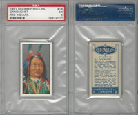 P50-78 Phillips, Red Indians, 1927, #18 Canonchet, PSA 5 EX