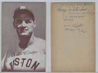 1947-66 Exhibit, Baseball, Walter Dropo, Red Sox