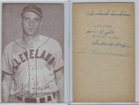 1947-66 Exhibit, Baseball, Jim Hegan, Indians