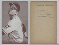 1947-66 Exhibit, Baseball, Bob Lemon HOF (No Glove), Indians