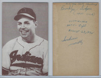 1947-66 Exhibit, Baseball, Dale Mitchell, Indians