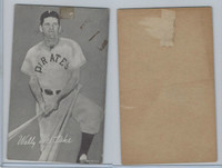 1947-66 Exhibit, Baseball, Wally Westlake, Pirates