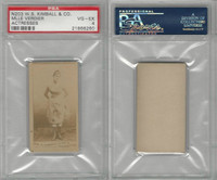 N203 Kimball, Actresses, 1889, Mlle Verdier, PSA 4 VGEX