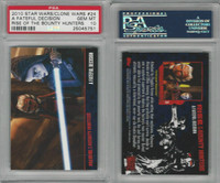 2010 Topps, Star Wars, Clone Wars, #24 Fateful Decision, PSA 10 Gem
