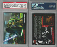2010 Topps, Star Wars, Clone Wars, #88 Unusual Success, PSA 10 Gem
