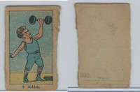 W542, Strip Card, Sports Drawings, 1920's, #5 Athlete