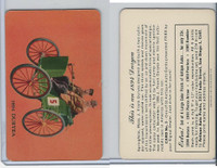 UO5 Signal Oil, Antique Autos, 1953, #3 Duryea 1894